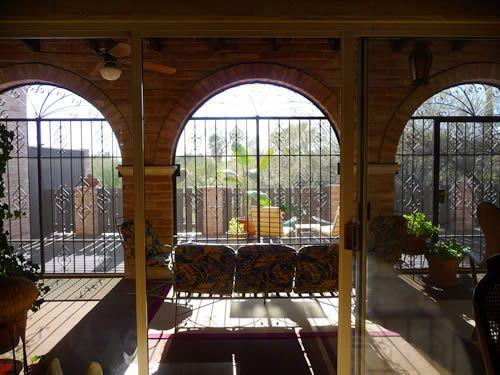 arizona room | Arizona Room with View to Back Patio