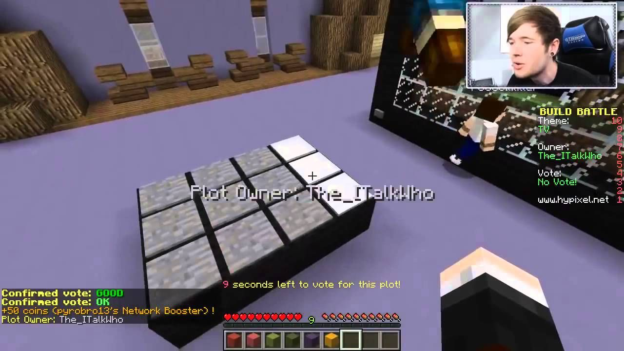 Minecraft GRIM ! Build Battle Minigame ♫ TheDiamondMinecart