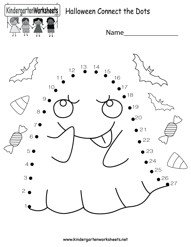 worksheet Halloween Worksheets Free kids can improve their number recognition skills with this free halloween connect the dots worksheet kindergarten holiday for kids
