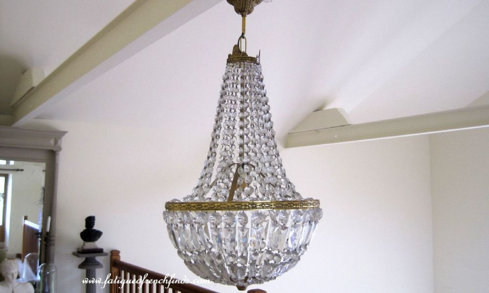 Antique french superb crystal bronze chandelier bag chandelier antique french superb crystal bronze chandelier bag chandelier montgolfier chandelier basket chandelier fatiguedfrenchfinds aloadofball Choice Image