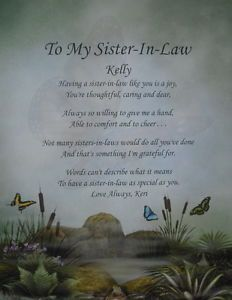 Short Sister in Law Quotes | To a Sister In Law Lost ...