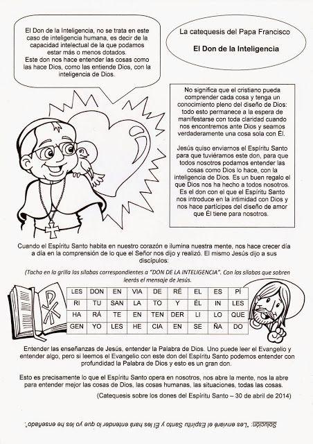El Rincón de las Melli | Pentecostés | Pinterest | Catecismo ...