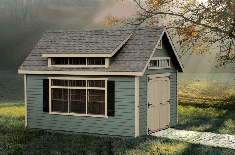 The addition of a shed roof dormer is optional on any of