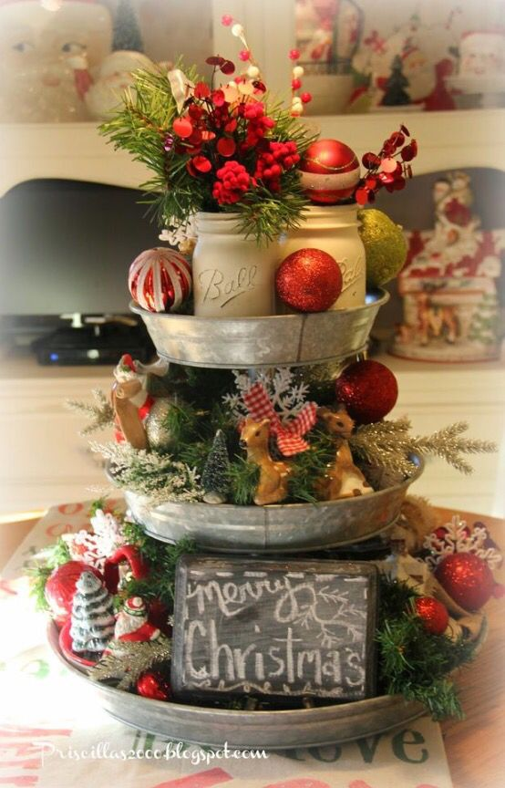 In Waiting Christmas Christmas Centerpieces Christmas Decorations Christmas Diy