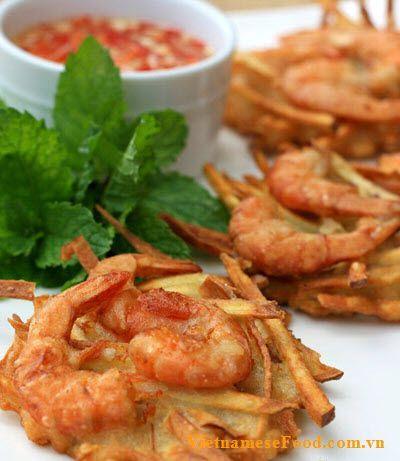 Vietnamese prawn cake recipe