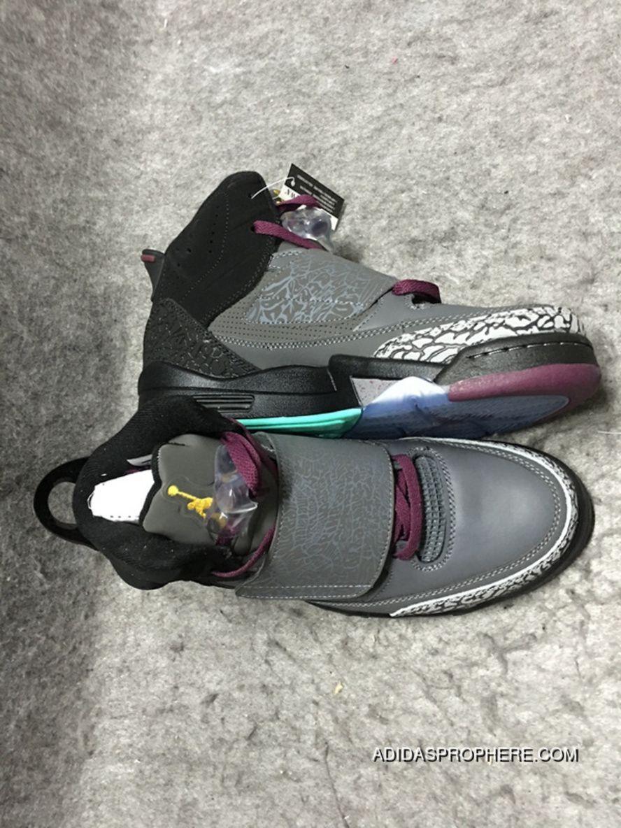 Air Jordan 5.5 Bordeaux Black Gray Son Of Mars Best