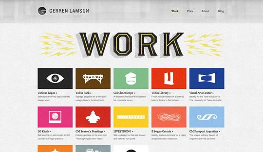 30 Examples Of Big Typography In Web Design Web Design Ledger Web Design Design Portfolio Site Affordable Website Design