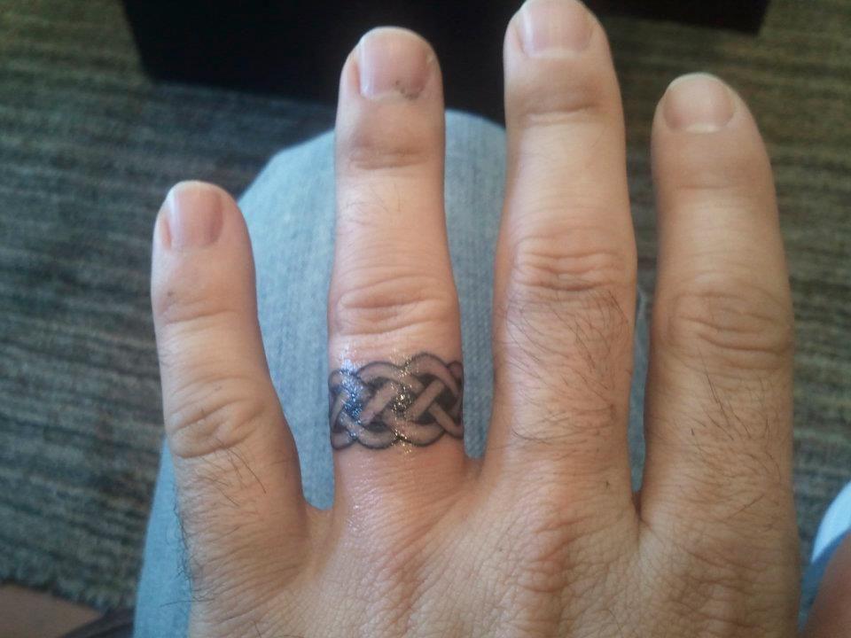 My Wedding Ring Tattoo Wedding Ring Tattoo For Men Ring