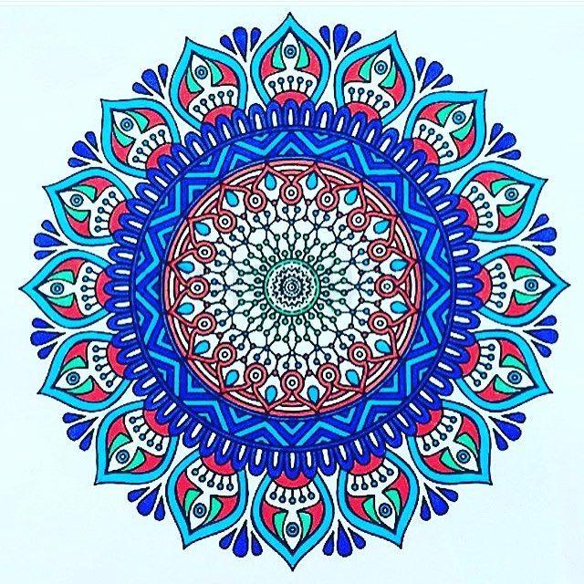 #mandala #mandalas #coloriageantistress #mandalatime #