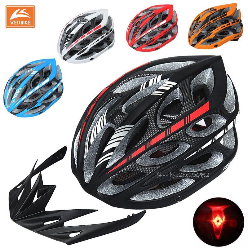 Unisex Mountain Bike Integrally Molded Safety Helmet Sports Cycling Lightweight