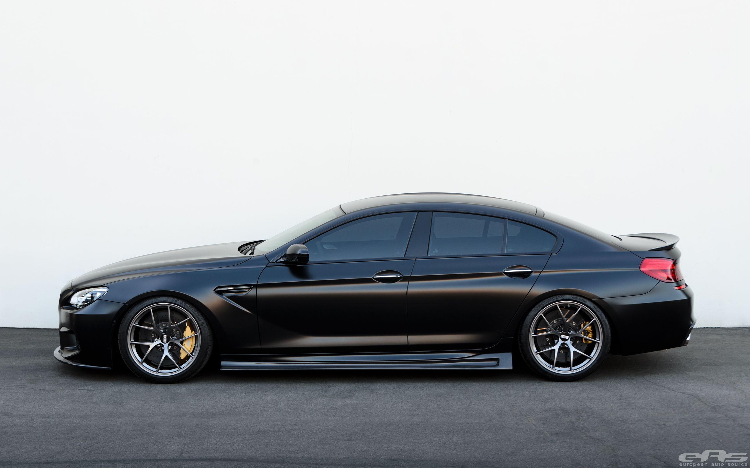 Frozen Black Bmw M6 Gran Coupe Is Breathtaking Bmw M6 Bmw