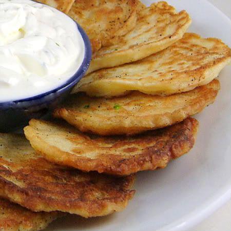 Turnip Griddle Cakes Low Carb Sub Flour Used In Recipe