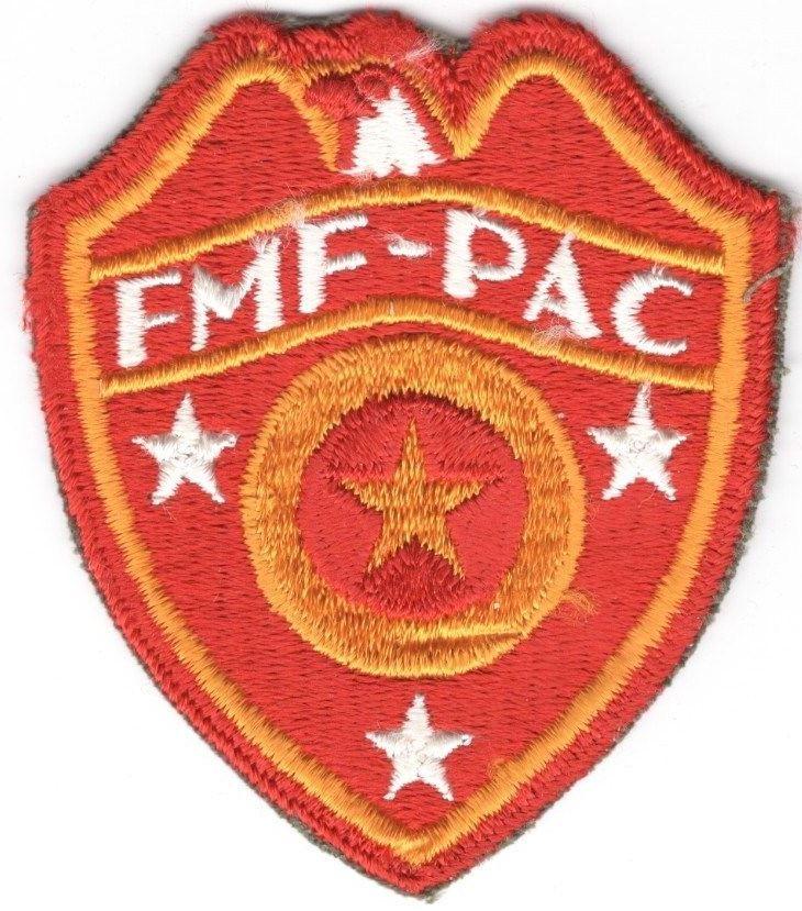 USMC Marine Patch: FMF-PAC, Supply Service