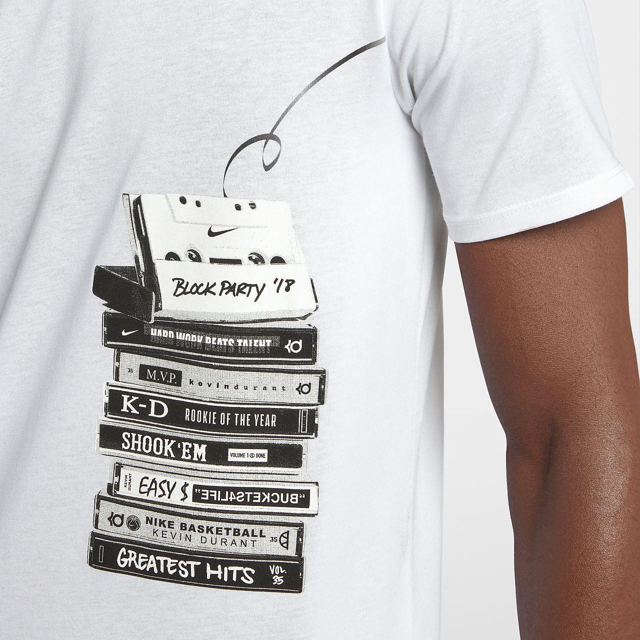 128516fde48 Nike Dri-Fit Kd Men s Basketball T-Shirt - 2XL