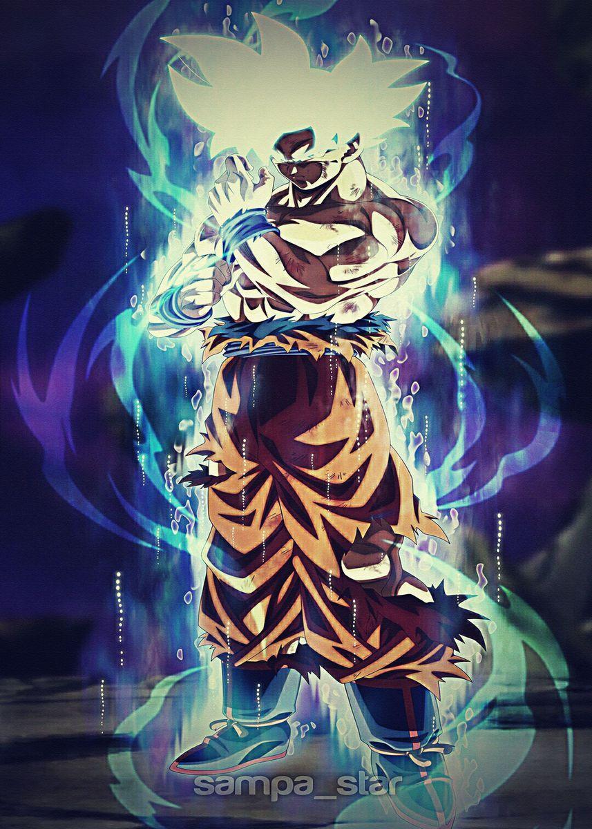 Dragon Ball Z Super Dbz Poster By Drmerlkerlukev Displate In 2021 Dragon Ball Super Goku Anime Dragon Ball Super Dragon Ball