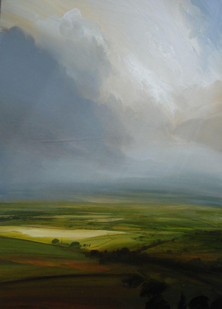 British Landscape Painter James Naughton Contemporary Landscape Landscape Art Landscape Paintings