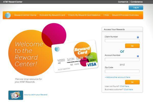 Www Att Com Rewardcenter How To Access Activate At T Reward