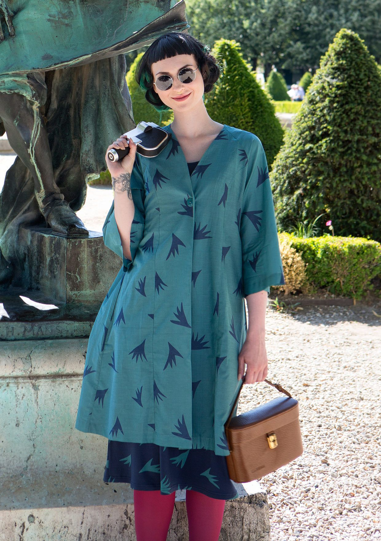 "Kimono ""Vippa"" i bomuld/silke–{{2016_spring_chapters}}–GUDRUN SJÖDÉN – Kläder Online & Postorder"