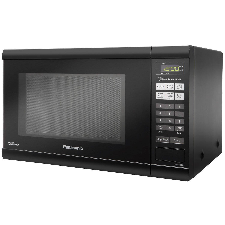 Panasonic Nn Sn651b Countertop Microwave Oven With Inverter Technology Countertop Microwave Oven Microwave Oven Microwave