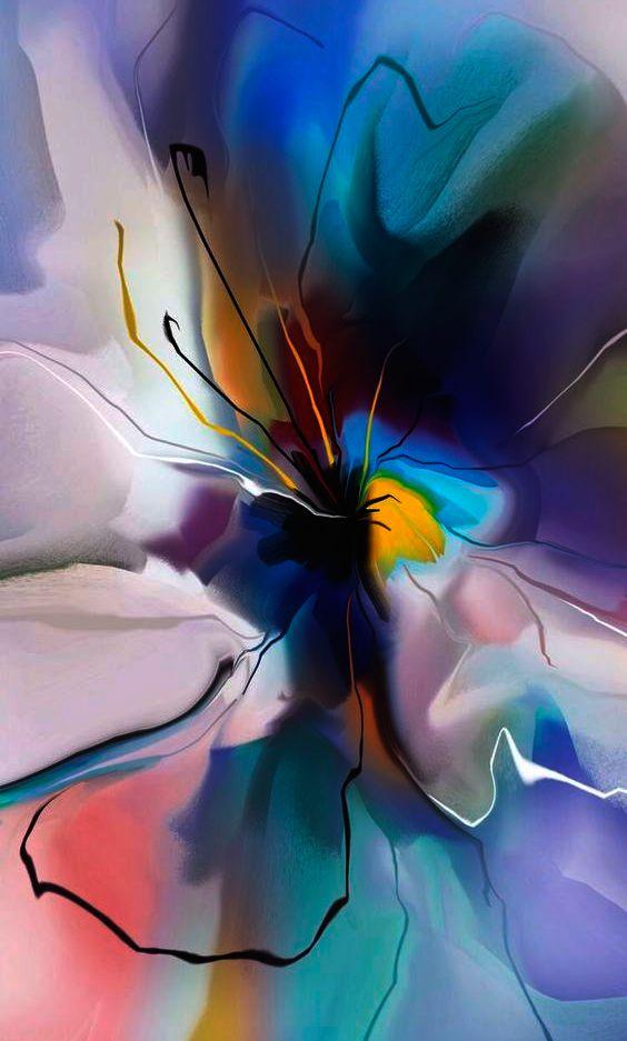 Epingle Par Karolyn Sur Carnets Artistiks Peinture Abstraite