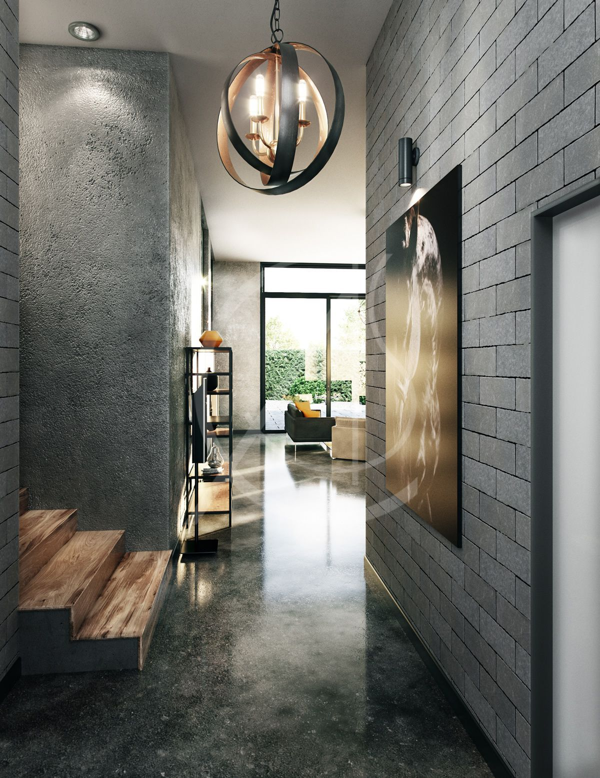 Cas Is Under Construction Industrial Home Design Industrial House Industrial Interior Design