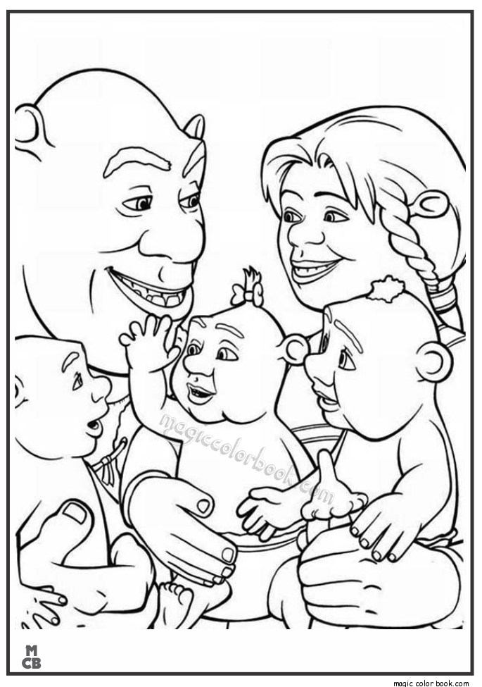 Shrek Archives Magic Color Book Cartoon Coloring Pages Disney Coloring Pages Coloring Pages