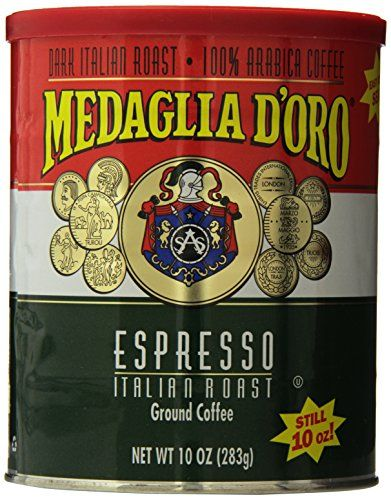 Medaglia D'Oro Italian Roast Espresso Coffee, 10 Ounce *** You can get additional details at the image link. #Coffee