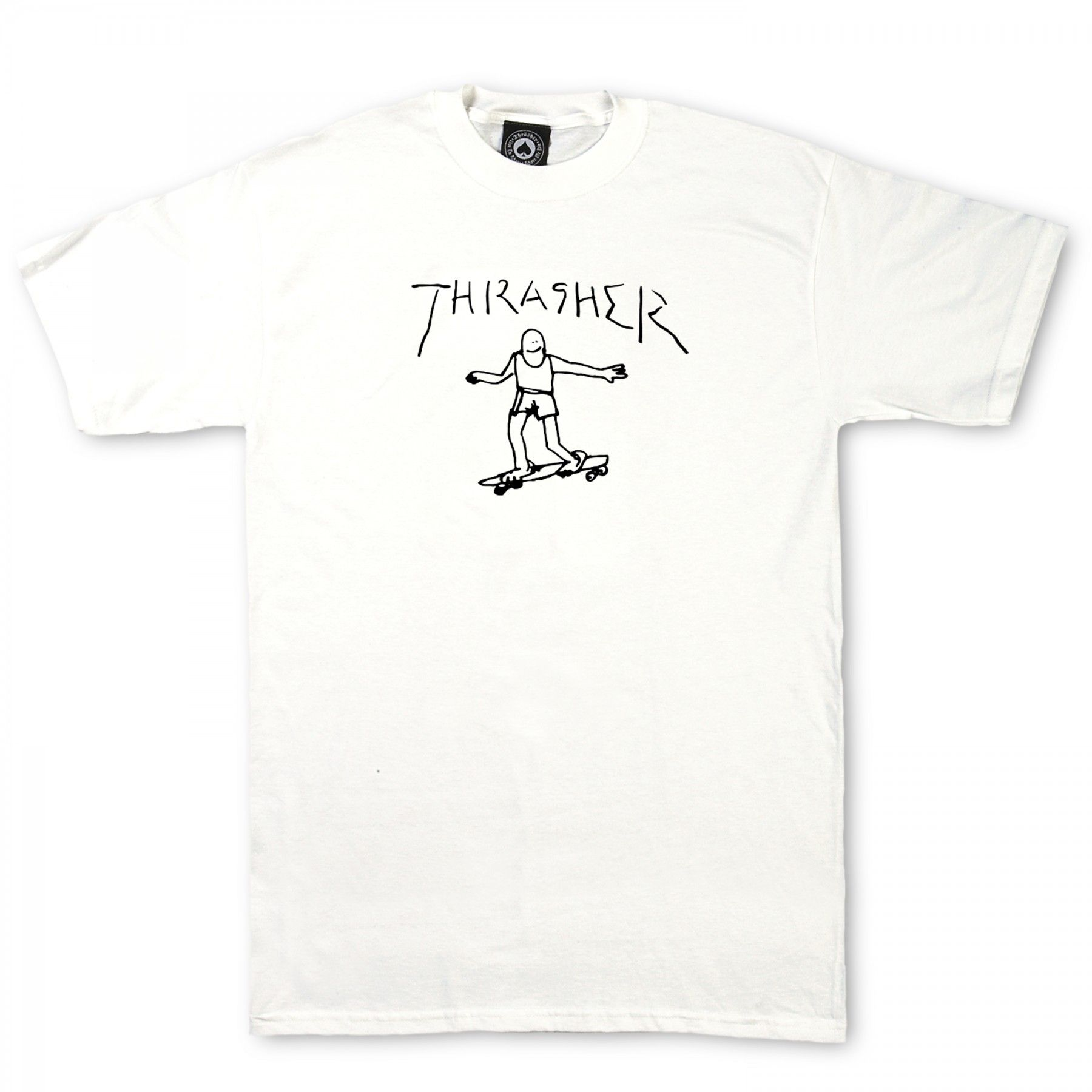 7cebe11d657e Thrasher Gonz Shirt Sleeved Tee (White) | Shirts