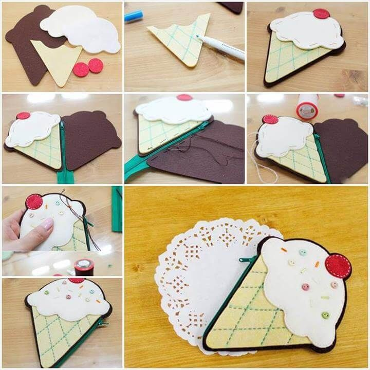 20 DIY Coin Purse Tutorial That Make Fun Project Anytime