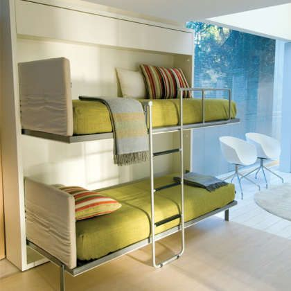 Space Saving Pop Out Bunk Beds Www.resourcefurniture.com