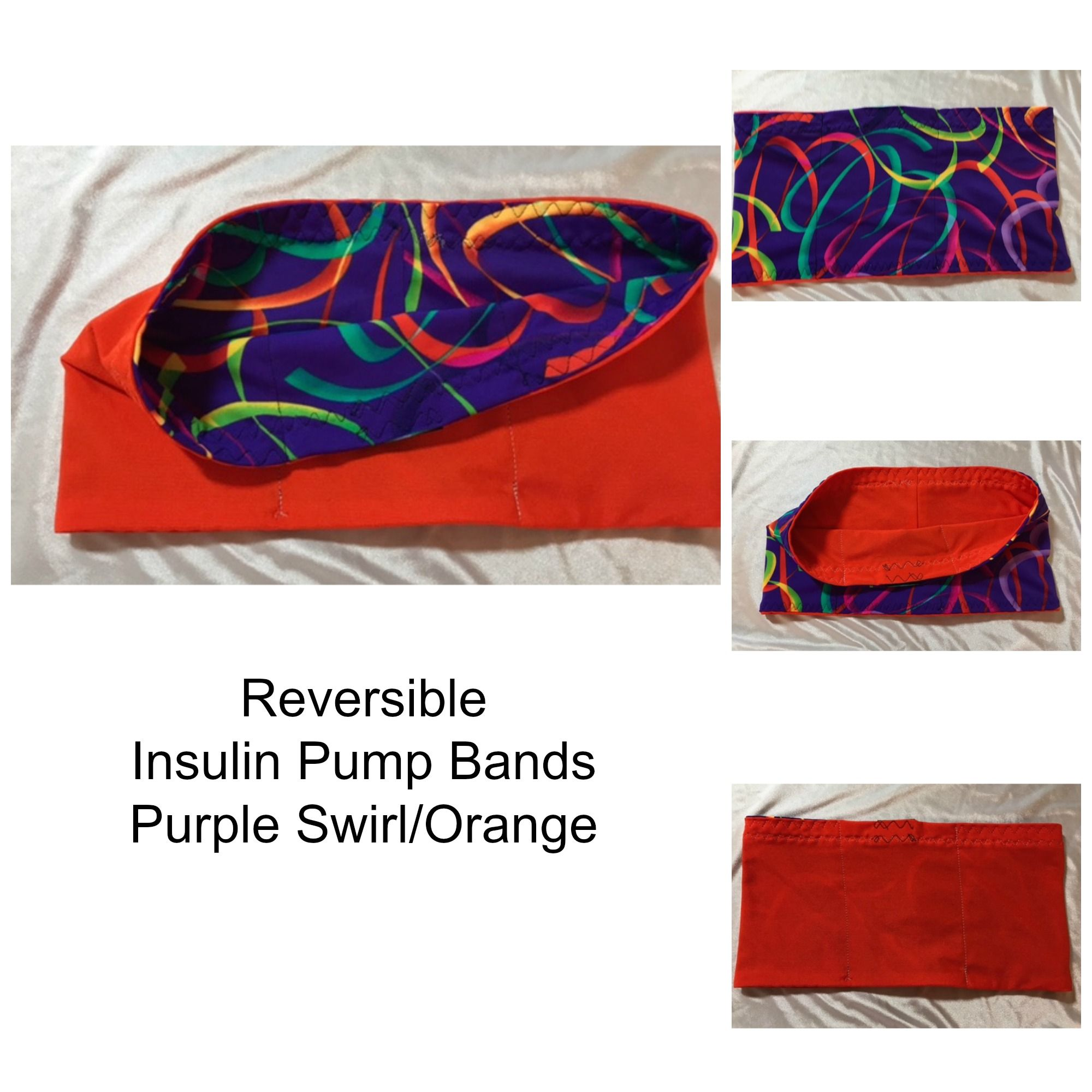 reversible insulin pump bands its like having 2 bands in one