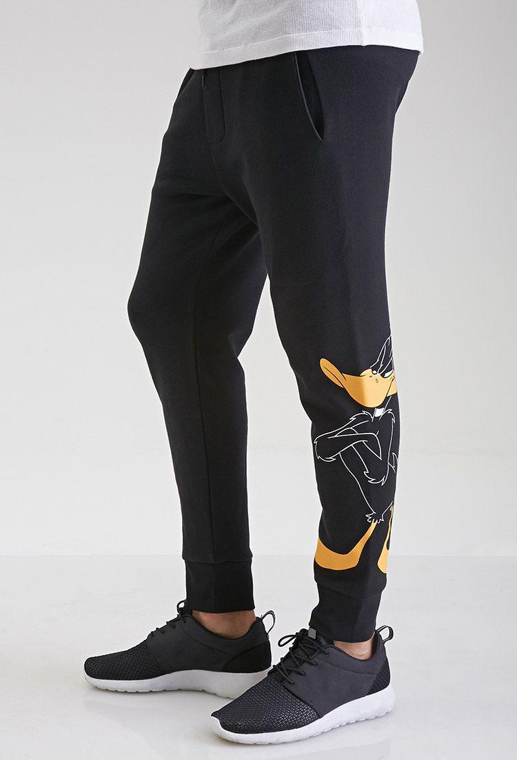 770ce6977c6485 Daffy Duck Sweatpants