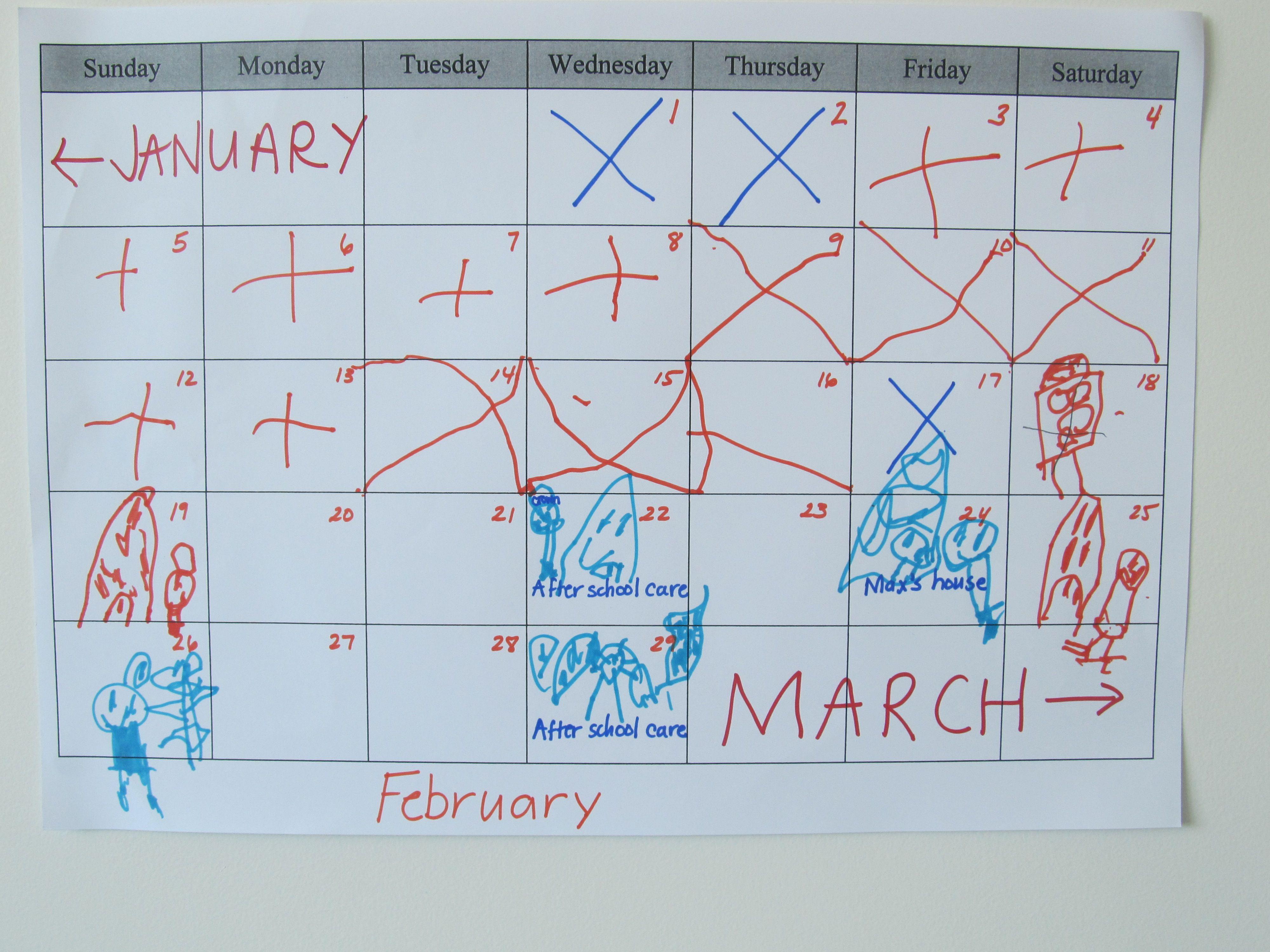 teacher mama making a monthly calendar creative problem solving