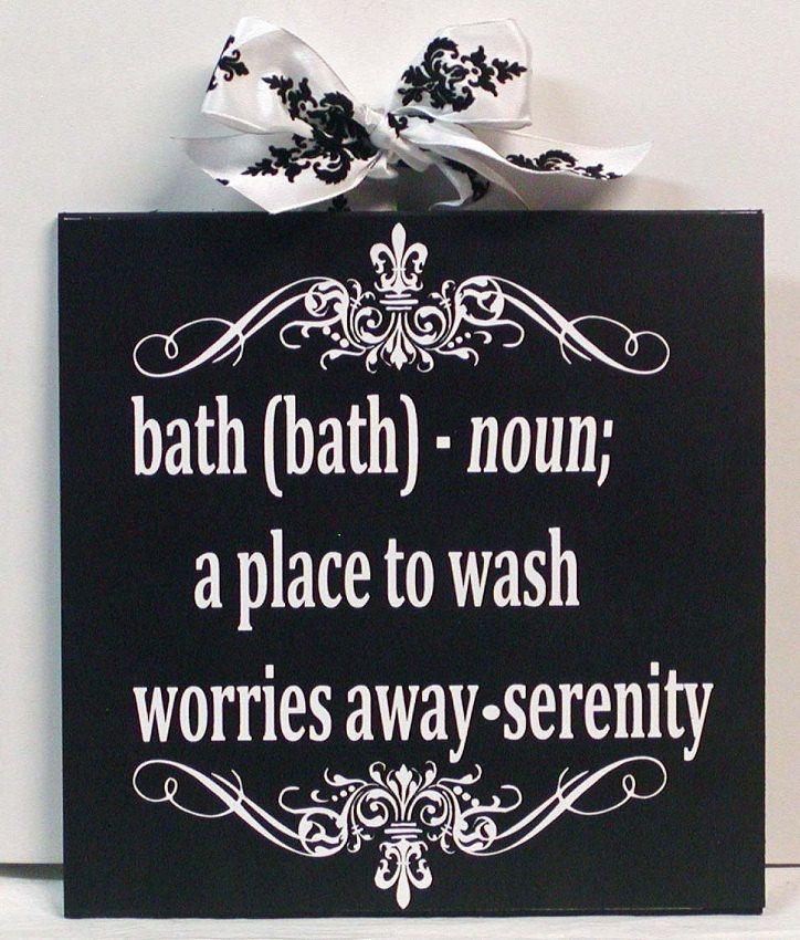 Damask And Fleur De Lis Bathroom Wall Art Definition Of Bath With
