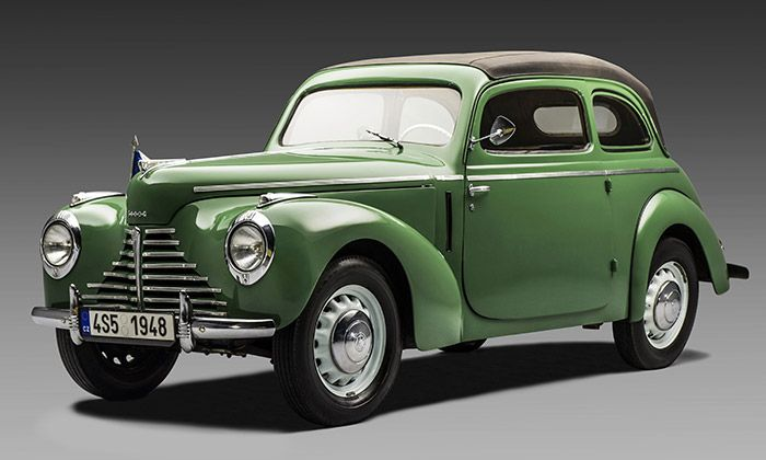 Škoda 1101 zvaná Tudor slaví sedmdesáté výročí  – DesignMag.cz
