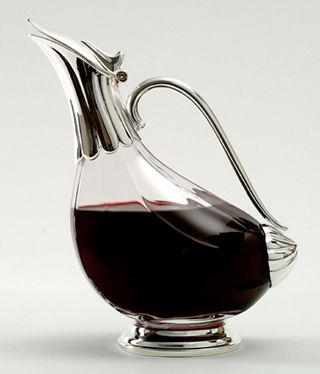 Duck Wine Decanter With Sterling Silver Spout Wings Wine Bottle Photography Wine Decanter Wine