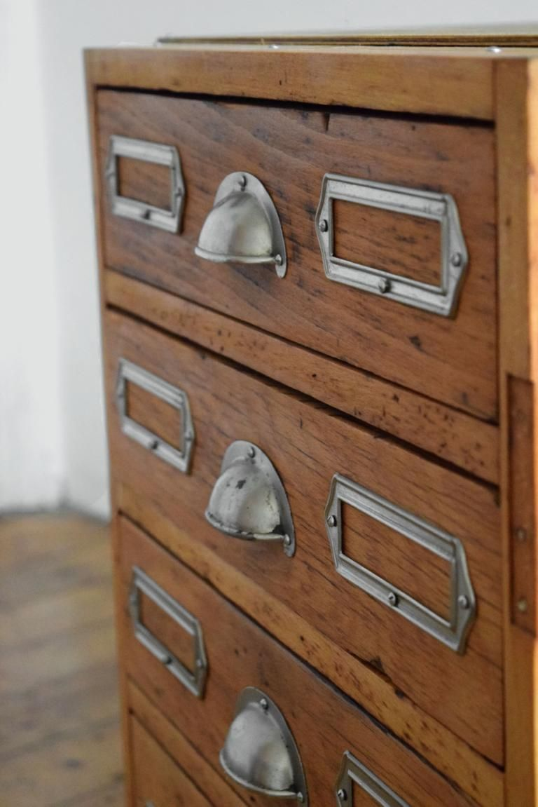 details zu schubladenschrank antik werkstattschrank vintage fabrik