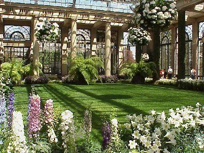 The Orangery in the Conservatory in Longwood Gardens in Kennett Square PA - Philadelphia Photo Gallery