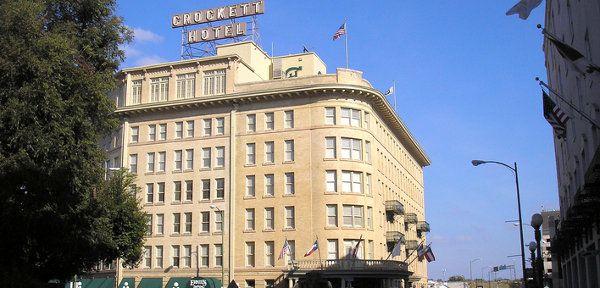 The Crockett Hotel San Antonio Tx Historic Built In