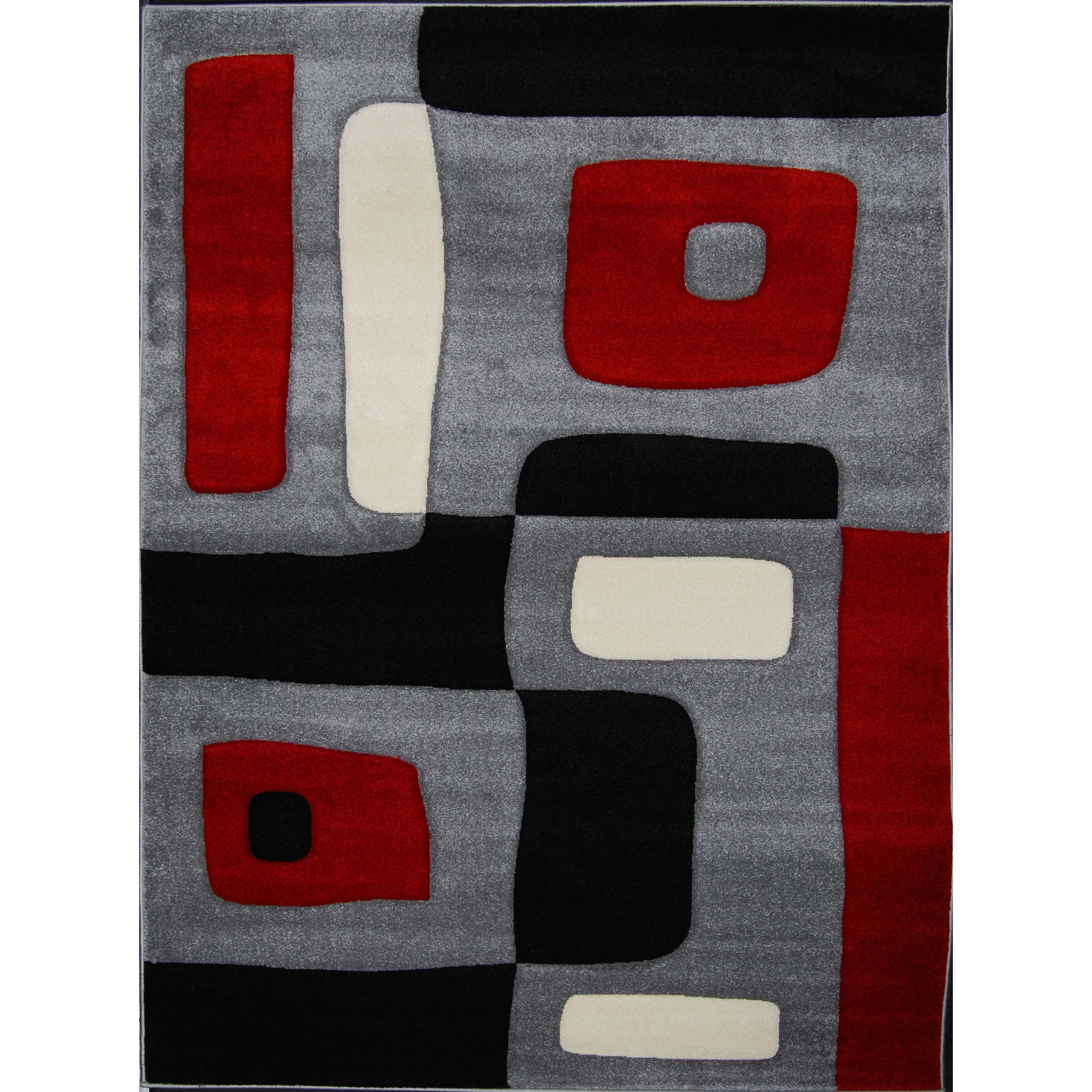 decorate in style with these elegant area rugs made of soft frieze heatset