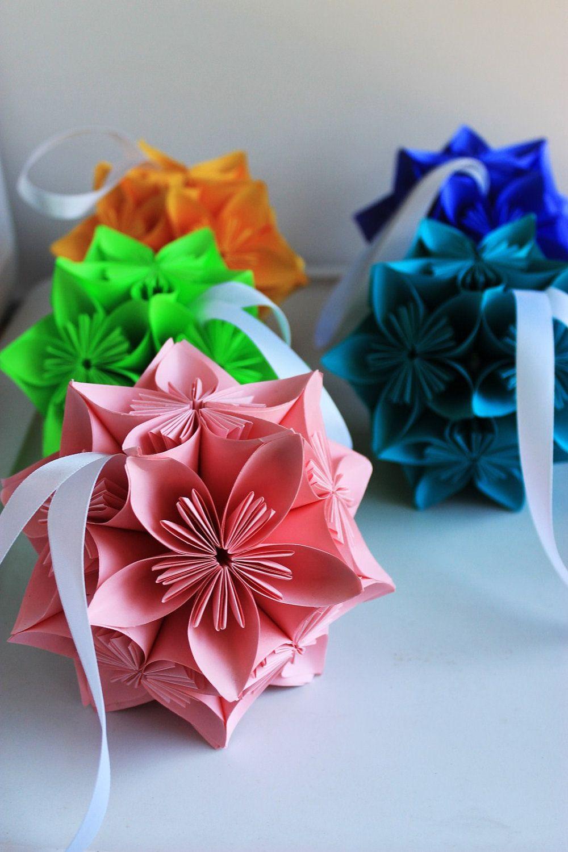 Decorative flower balls  Spring Fling  Pinterest  Flower ball