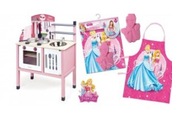 Houten Garage Janod : Janod keuken mademoiselle roze met gratis disney princess kookset