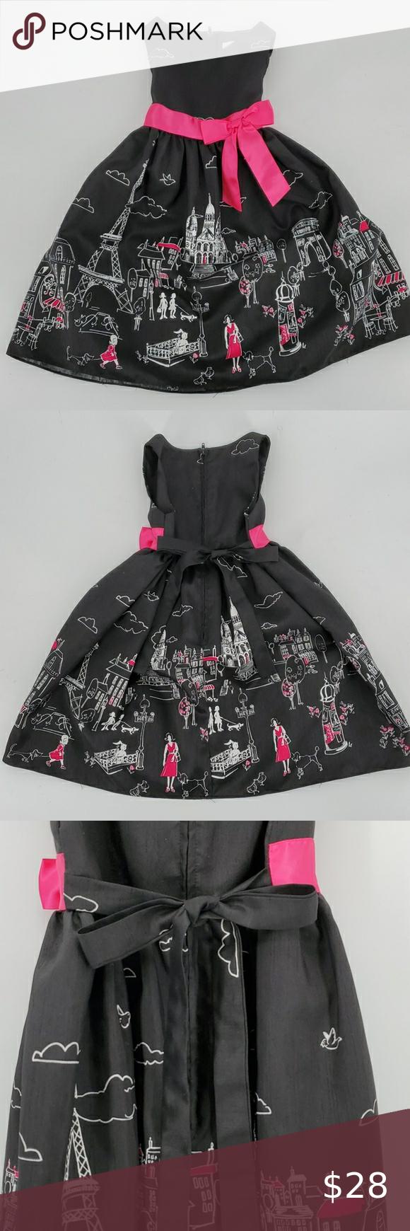 Rare Editions Toddler Black Paris Dress Size 4t Rare Editions Dress Paris Dresses Rare Editions [ 1740 x 580 Pixel ]