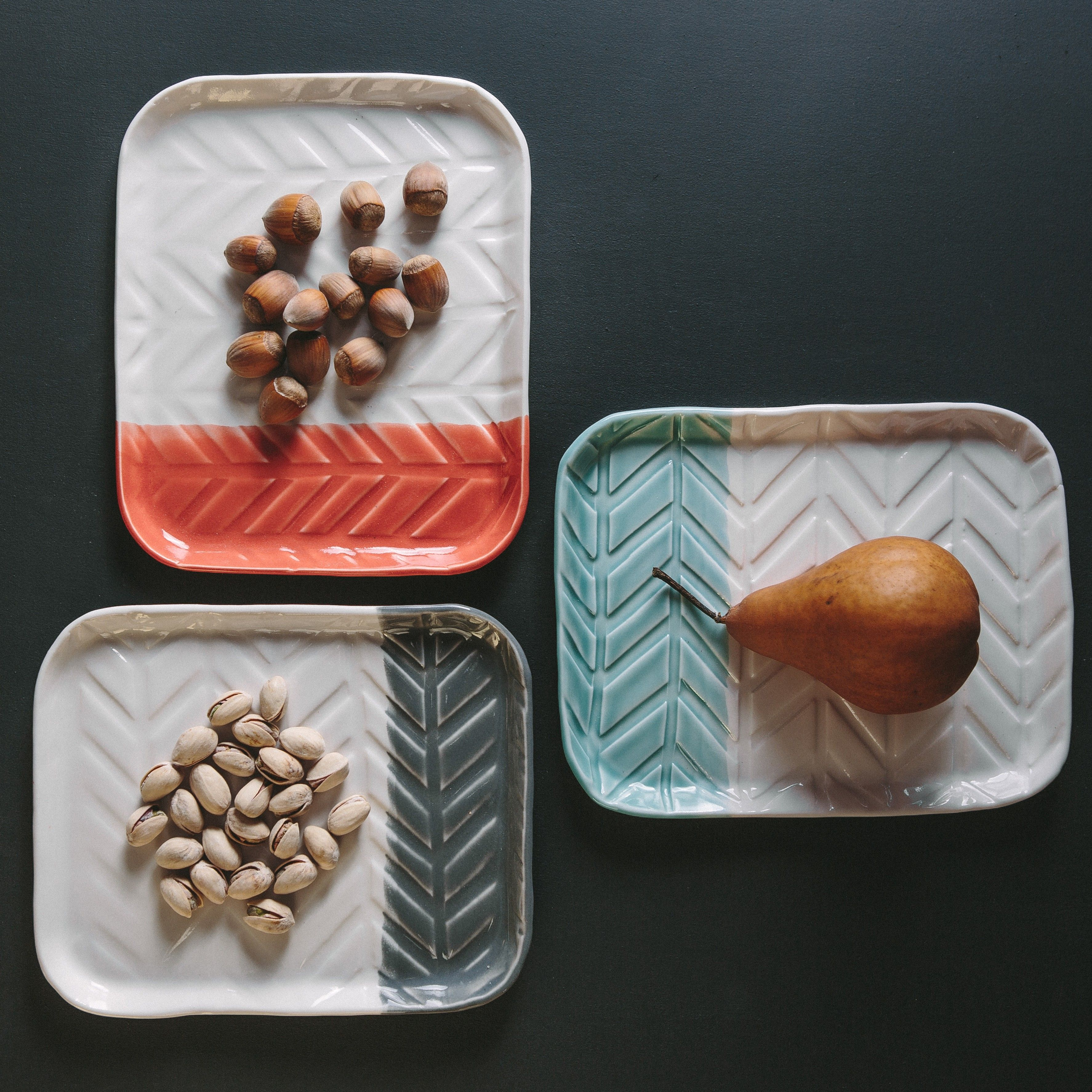 Herringbone Tray (More Colors) on @BRIKA  These trays so fun and versatile.  Definitely ordering one of the beauties!