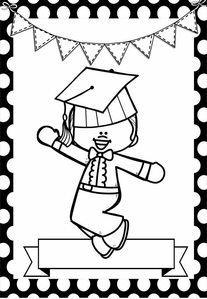 Pin de wendy jasso en coloring   Pinterest   Graduación, Diplomas y ...
