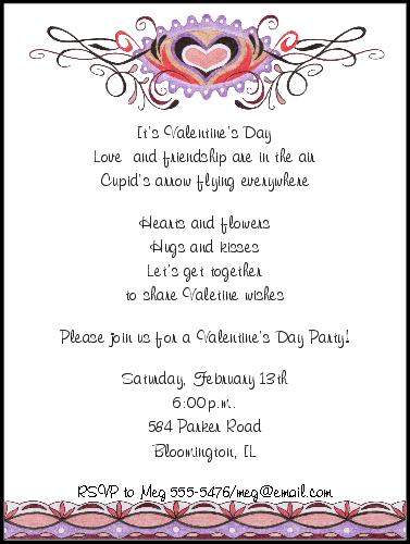 Valentine dinner invitations wording shop our store ornamental valentine dinner invitations wording shop our store ornamental valentines day invitations stopboris Gallery