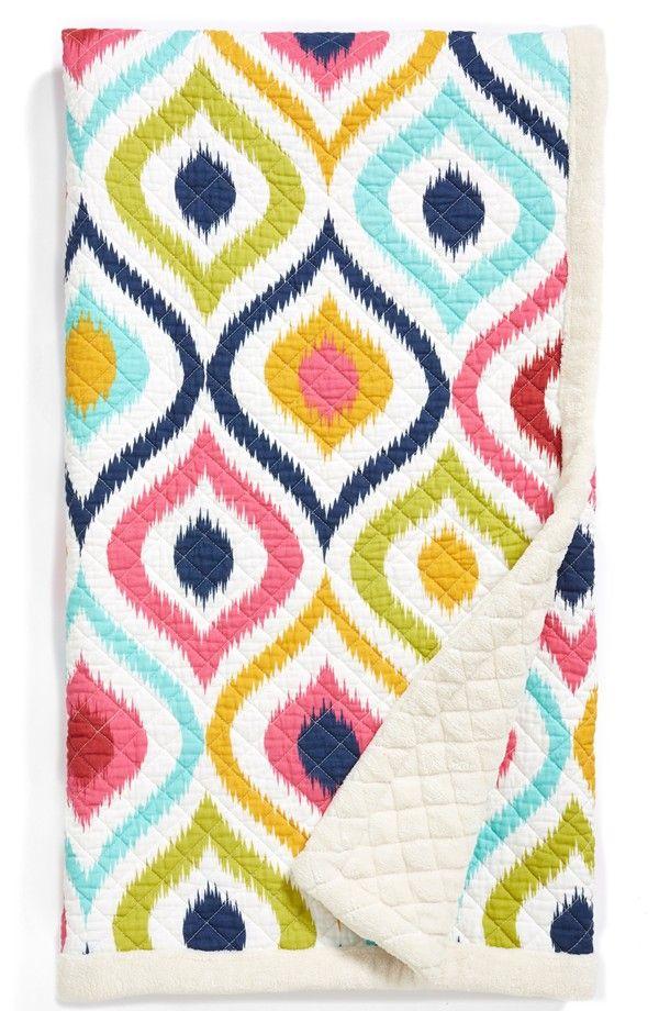 cute colorful throw blanket p r i n t s b o l d pinterest