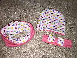 Baby Girl Hat, Snood And Headband Set, 2years+  | eBay