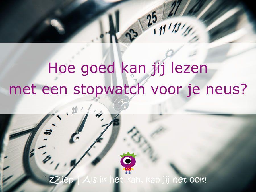 We vragen nogal wat van kinderen die lezen moeilijk vinden. Niet alleen moeten ze als het even kan foutloos lezen, maar ook binnen een bepaalde tijd ... en dat dan wel met een stopwatch voor je neus.  zZiep vindt het ook moeilijk en schreef erover in zijn dagboek.   http://www.zziep.nl/dagboek-van-zziep/17/leestoets-op-school  zZiep - Als ik het kan, kan jij het ook!
