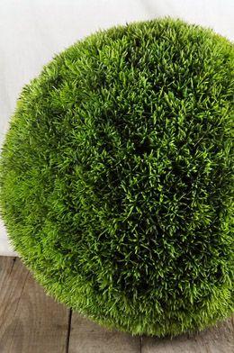 Decorative Balls Moss Balls Faux Grass Plastic Grass Grass
